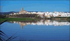 Vista general del municipio de la Vega sevillana de Cantillana ©Francisco J. Domínguez