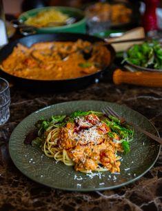 Supergod pastasås med champinjoner och bacon - ZEINAS KITCHEN