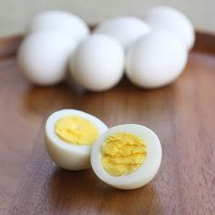 Perfect boiled eggs!