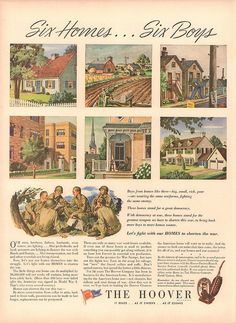 1943 Hoover Vacuum Cleaner WWII Advertisement Life Magazine September 13 1943 | Flickr - Photo Sharing!