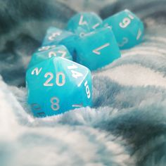 And another :) #dnd #dungeonsanddragons #dice by courtneyapp421 http://ift.tt/1Mn3xE6