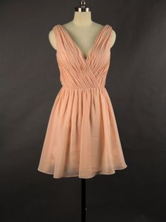 Vneck Bridesmaid Dress 2013 by DressbLee on Etsy, $89.00