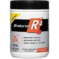 Delicious and great recovery fuel for long and/or hard-effort workouts.  Tangy orange and fruit punch are both great.