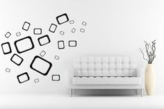 Wall Decals -  rectangle shapes