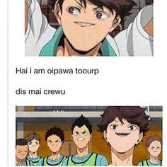 Haikyuu funny Aoba Jouhsai WTF IS THIS IM SCREAMING