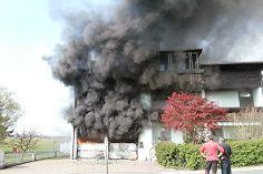 Wohnhaus bei Brand schwer beschädigt