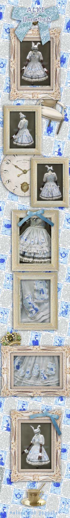 ◆ ◆ doll adventure classic Alice - chiffon aprons Poker Accessories - Taobao -- $24 pics are confusing JUST the APRON :) #classicalpuppets #taobao  #lolita #lolitafashion #jfashion
