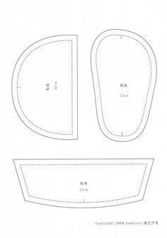 il inspiration chaussons en feutrine et en lin let 39 s sew pinterest. Black Bedroom Furniture Sets. Home Design Ideas