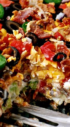 Layered Taco Salad                                                                                                                                                                                 More