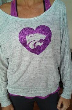 K-State Heart Dolman   Sideline Chic