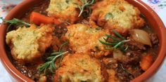 Country Beef Casserole with Herb Scones | Stay at Home Mum