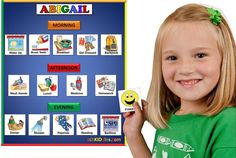 SchKIDules are behavioral supports used for teaching routines, visual schedules, behavior charts, chore charts, ADHD tools and Autism schedules. Behaviour Chart, Behavior, Sensory Tools, Visual Schedules, Sensory Processing Disorder, Autism Spectrum Disorder, Activity Sheets, Learning Resources, Early Learning