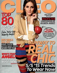 The Olivia Palermo Lookbook : Olivia Palermo For CLEO Malaysia