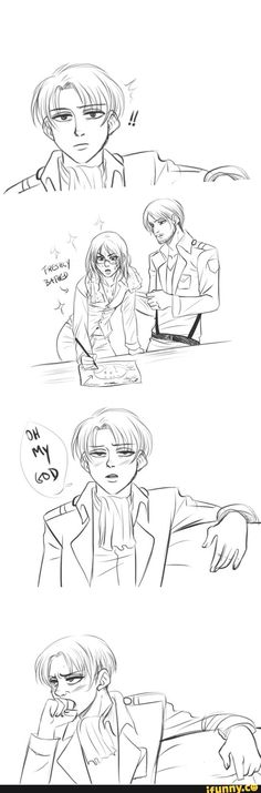levihan hahaha << this is literally me when my crush looks (for some reason) really attractive that day