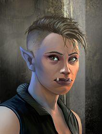 Ork Female Shadowrunners Portraits from Shadowrun Returns and Shadowrun Dragonfall. Shadowrun Portrait Posts