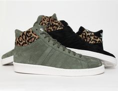 #adidas Hook Shot II #Leopard Khaki Black  #sneakers