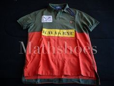 Ralph Lauren Kayak Polo $145NWT rafting explorer rugby patch river C1 flag vtg M