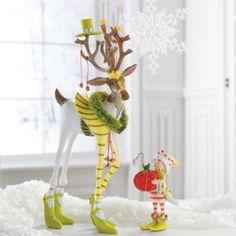 Patience Brewster Prancer Dash Away Reindeer and Elf