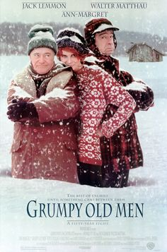 """Grumpy Old Men"" movie poster, 1993."