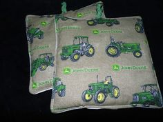 John Deere Tractor Pot Holders