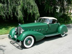 1934 Packard V12 Speedster.