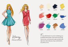 12ideal colour combinations for your hair and clothes