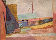 Barns by the Estuary by Vanessa Bell