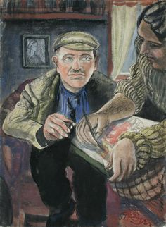 Kurt Günther- Fleischer und Maler. 1939/1951, 1939