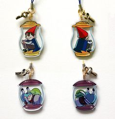 OTGW lantern charms by papricots on Etsy