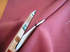 Tailor tacks- Gertie's New Blog for Better Sewing: Marking Unprinted Patterns