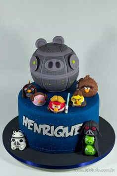Angry Birds Star Wars cake - by B de Bolo