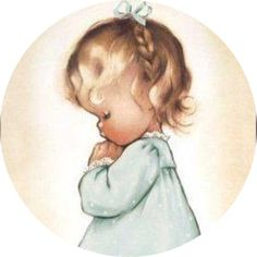 Now I lay me down to sleep, I pray the Lord my soul to keep. If I should die before I wake, I pray the Lord my soul to take. Images Vintage, Photo Vintage, Vintage Pictures, Vintage Cards, Cute Pictures, Indian Pictures, Prayers For Children, Image Digital, Illustration Art