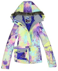 e929a8c582 2015 Gsou snow New Women s ski snowboard jacket Ladies snow Coat size XS S  M L