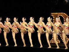 See the Rockettes perform at the Radio City Music Hall Christmas Spectacular.