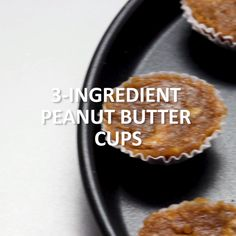 Delectable, guilt-free treats are as easy as 1-2-3 with this simple recipe for 3-ingredient Peanut Butter Cups! Click the video for the full recipe.
