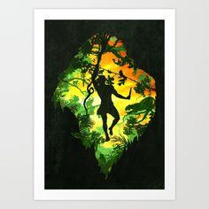 Ape Man, by Diogo Veríssimo - inspired by Burroughs's Tarzan