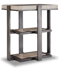 Chairside Table in Gray | Hooker Furniture | Home Gallery Stores