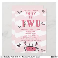 Birthday Places, 2nd Birthday, Lets Celebrate, Birthday Invitations, Rsvp, Party, Pink, Parties, Pink Hair