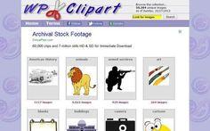 Wpclipart, más de 50000 cliparts de dominio público para descargar