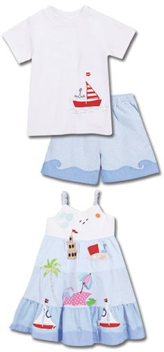 this would be adorable on both my babies for summer pics on the beach!!