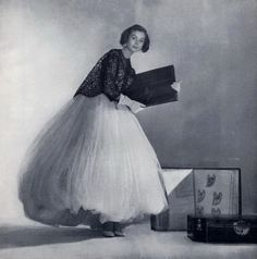Balenciaga 1953 Suzy Parker by Louise Dahl Wolfe