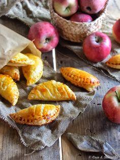 Coco e Baunilha: Chaussons aux pommes ::: Almofadinhas de maçã e amêndoa