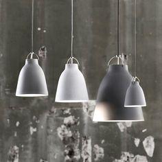 Lightyears Pendelleuchte Caravaggio P3, grey25 matt. #artvoll #Designer #CecilieManz www.artvoll.de