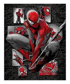Look at this #zulilyfind! Spider-Man Molded Shadowbox Wall Art #zulilyfinds