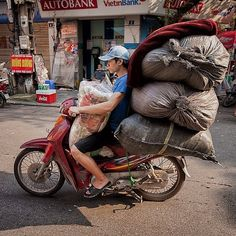 Stacked up Hanoi Vietnam by grantstewart4