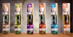 Diffusori a bastoncini con alcol biologico e fragranza conforme IFRA