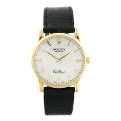1stdibs   Rolex Yellow Gold Cellini Wristwatch with Jubilee Dial Ref 5116