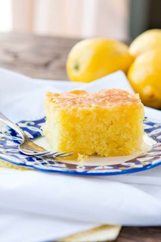 This Lemon Jello Cake is perfect for anytime of the year. The fresh tastes of summer or to brighten the winter holiday meals.