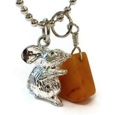 Sterling Silver Charm Bracelet Mouse and Cheese by jewelrybycarmal, $18.00
