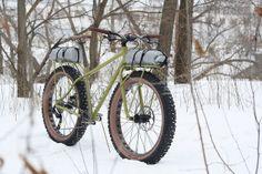 Fat Bike by Joel Greenblatt   Clockwork Bikes, via Flickr